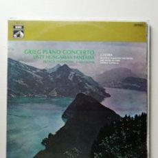 Discos de vinilo: GRIEG PIANO CONCERTO. Lote 218168036