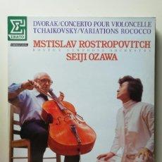 Discos de vinilo: MSTISLAV ROSTROPOVITCH SEIJI OZAWA. Lote 218168720