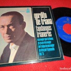 Discos de vinilo: GORDITO DE TRIANA&MELCHOR MARCHENA ESA MUJER QUE TIENES +3 EP 1966 FANDANGOS TRIANEROS TRIANA. Lote 218172080