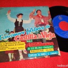 Discos de vinilo: GARCIA MATOS&PUEBLO ESPAÑOL CASTILLA VIEJA VOL.1 RONDA ENAMORADOS +3 EP 1961 AVILA SANTANDER. Lote 218172826