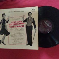 "Discos de vinilo: TOVARICH (ORIGINAL BROADWAY CAST) (, LP, PORTADA DOBLE-VIVIEN LEIGH WINNER, 1963 ""TONY"" AWARD. Lote 218178260"