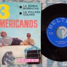 Discos de vinilo: SINGLE LOS 3 SUDAMERICANOS - BELTER AÑO 1966. Lote 218178320