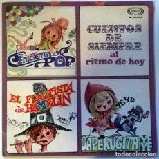 Discos de vinilo: VVAA MIGUEL RÍOS, LOS IMPALA... CUENTOS DE SIEMPRE AL RITMO DE HOY. SONOPLAY, SPAIN 1968 LP ORIGINAL. Lote 218180858