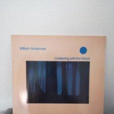 Discos de vinilo: LP WILLIAM ACKERMAN-CONFERRING WITH THE MOON 1986. Lote 218181421
