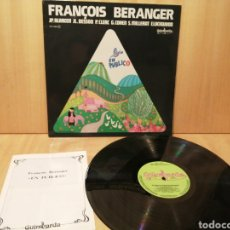 Discos de vinilo: FRANCOIS BERANGER. EN PÚBLICO. FRANCIA. LIBRETO 24 PÁGINAS. GUIMBARDA.. Lote 218182052