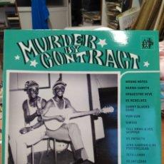 Discos de vinilo: MURDER BY CONTRACT: NOIR C'EST NOIR SECOND VOLUME - SPECIAL ISSUE: AFRO ROCK & GARAGE-LP PRECINTADO. Lote 218183936