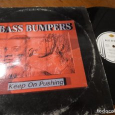 Discos de vinilo: BASS BUMPERS ?– KEEP ON PUSHING-ESPAÑA-1995- MAX MUSIC ?– NM 1156 MX. Lote 218184532