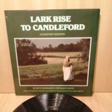 Discos de vinilo: LARK RISE TO CANDLEFORD. KEITH DEWHURST & THE ALBION BAND. FLORA THOMPSON.. Lote 218184966