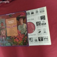 Discos de vinilo: THE LEGENDARY BROADWAY SHOWS LP MAKE A WISH RCA USA VER FOTO JULE STYNE CAST. Lote 218187030