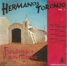 Discos de vinilo: HERMANOS TORONJO (EP). Lote 218192776