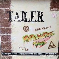 Disques de vinyle: TALLER LP RAP A DURAS PENAS MADE IN SPAIN 1991 PEDRO GUERRA. Lote 218196212