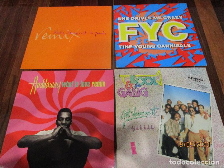LOTE 9 MAXI SINGLE VARIADOS (Música - Discos de Vinilo - Singles - Pop - Rock Extranjero de los 80)