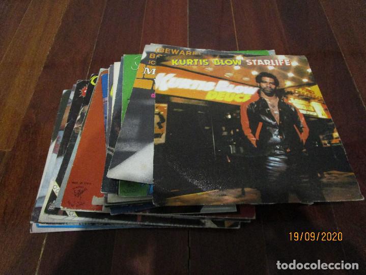 LOTE 22 SINGLES VARIADOS (Música - Discos de Vinilo - Singles - Pop - Rock Extranjero de los 80)