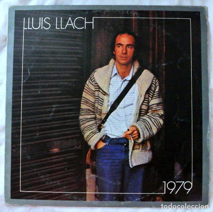 LLUIS LLACH , 1979 , DISCO VINILO LP, ARIOLA 1979 (Música - Discos - LP Vinilo - Cantautores Españoles)