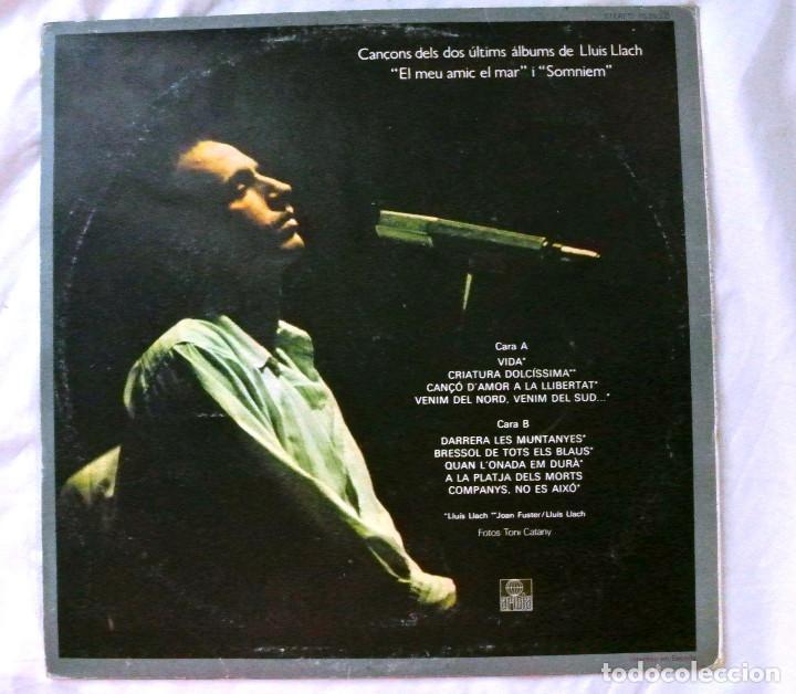 Discos de vinilo: LLUIS LLACH , 1979 , DISCO VINILO LP, ARIOLA 1979 - Foto 2 - 218204827