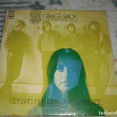 Discos de vinilo: LP THE GREAT SOCIETY WITH GRACE SLICK - CONSPICUOUS ONLY IN ITS ABSENCE (CBS, 1968) ROCK, SICODELIA. Lote 218207332