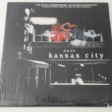 Discos de vinilo: THE VELVET UNDERGROUND LIVE AT MAX'S KANSAS CITY REEDICION NO ORIGINAL. Lote 218207513