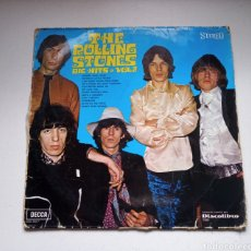 Discos de vinilo: ¡MUY DIFICIL! THE ROLLING STONES LP BIG HITS VOL 2 - 1969. Lote 218208117