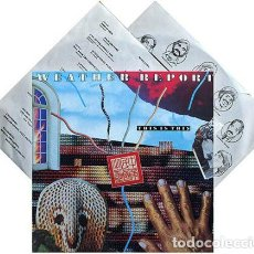 Discos de vinilo: WEATHER REPORT / THIS IS THIS 1986, CARLOS SANTANA GUITAR ! ORG EDT + INSERTO, TODO EXC !!!. Lote 218208251
