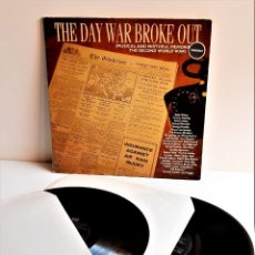 Discos de vinilo: VINILO THE DAY WAR BROKE OUT - ALBUM 2 VINILOS. Lote 218209545