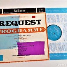 Discos de vinilo: VINILO REQUEST PROGRAMME. Lote 218209665