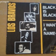 Disques de vinyle: LOS BRAVOS BLACK IS BLACK SINGLE. Lote 218219247