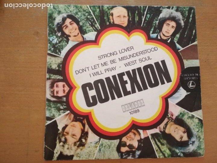 CONEXION STRONG LOVE EP ORLADOR (Música - Discos de Vinilo - EPs - Grupos Españoles de los 70 y 80)