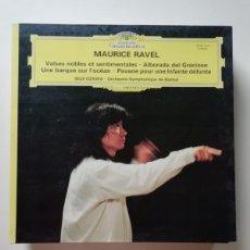 Discos de vinilo: MAURICE RAVEL. Lote 218220726