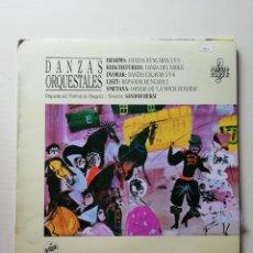 Discos de vinilo: DANZAS ORQUESTALES. Lote 218220931