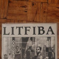 Discos de vinilo: LITFIBA – DESAPARECIDO SELLO: CBS – CBS 26660 FORMATO: VINYL, LP, ALBUM PAÍS: EUROPE 1985. Lote 218230288