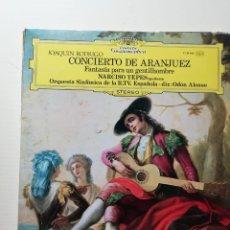 Discos de vinilo: CONCIERTO DE ARANJUEZ. Lote 218229088