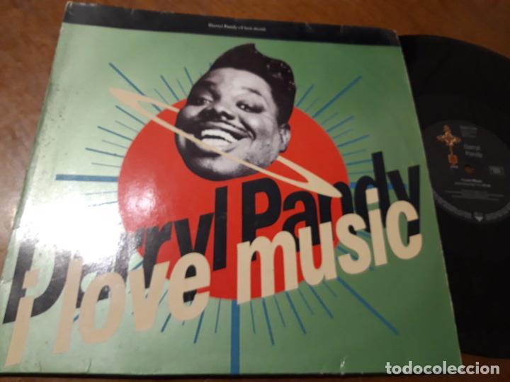 DARRYL PANDY – I LOVE MUSIC- ETERNAL – YZ 478 T, ETERNAL – 9031 71799 0-MAXI-UK-1990 (Música - Discos de Vinilo - Maxi Singles - Techno, Trance y House)