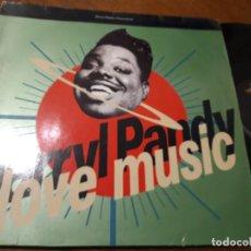 Discos de vinilo: DARRYL PANDY – I LOVE MUSIC- ETERNAL – YZ 478 T, ETERNAL – 9031 71799 0-MAXI-UK-1990. Lote 218235590