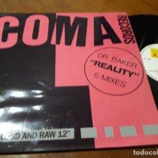Discos de vinilo: DR. BAKER – REALITY - RECORD RECORDS – RR-009-ESPAÑA-1991. Lote 218236046