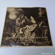 Discos de vinilo: DISCO LP SUPRAPHON MOZART SYMPHONY NO 36 C MAJOR LINZ. VIENNA ORCHSTRA HERMANN SCHERCHEN. Lote 218237696