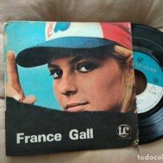 Discos de vinilo: FRANCE GALL / LES ANNES FOLLES / EP 45 RPM / LA COMPAGNIE. Lote 218238351