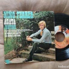 Discos de vinilo: NINO FERRER / AGATHA / EP 45 RPM BARCLAY. Lote 218238581