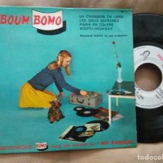 Discos de vinilo: SOUTH HIGHWAY (LP WITH THE BEATLES EN EL SUELO) EP 45 RPM / BOUM BOMO. Lote 218239545