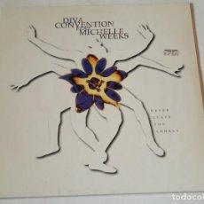 Discos de vinilo: DIVA CONVENTION - NEVER LEAVE YOU LONELY - 1994. Lote 218249257
