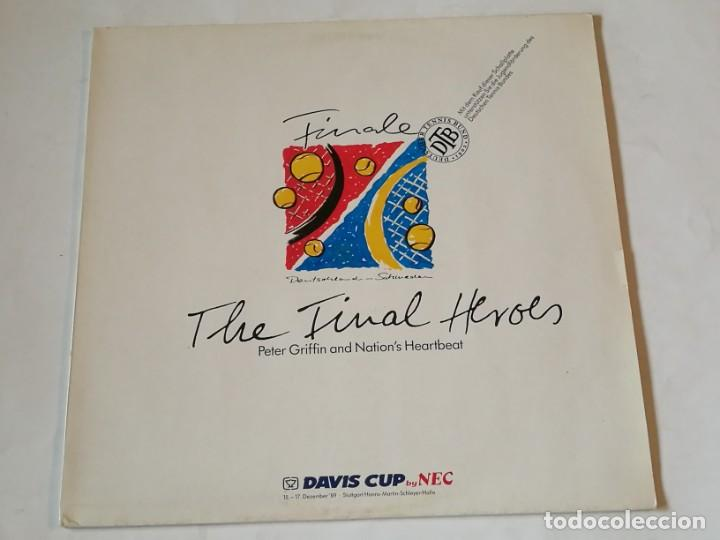 PETER GRIFFIN AND NATION'S HEARTBEAT - THE FINAL HEROES - 1989 (Música - Discos de Vinilo - Maxi Singles - Pop - Rock - New Wave Extranjero de los 80)