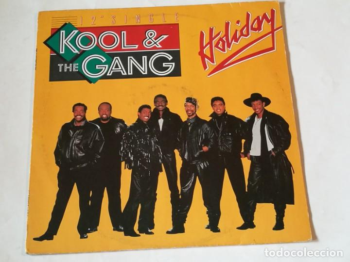 KOOL & THE GANG - HOLIDAY - 1987 (Música - Discos de Vinilo - Maxi Singles - Funk, Soul y Black Music)