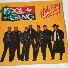 Discos de vinilo: KOOL & THE GANG - HOLIDAY - 1987. Lote 218249450