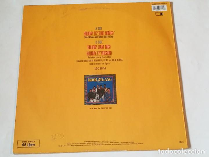 Discos de vinilo: Kool & The Gang - Holiday - 1987 - Foto 2 - 218249450