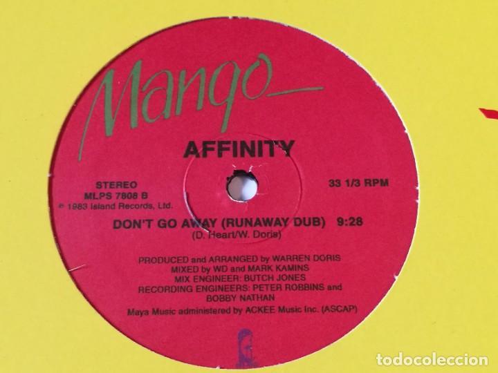 Discos de vinilo: Affinity - Dont Go Away - Foto 2 - 218249568