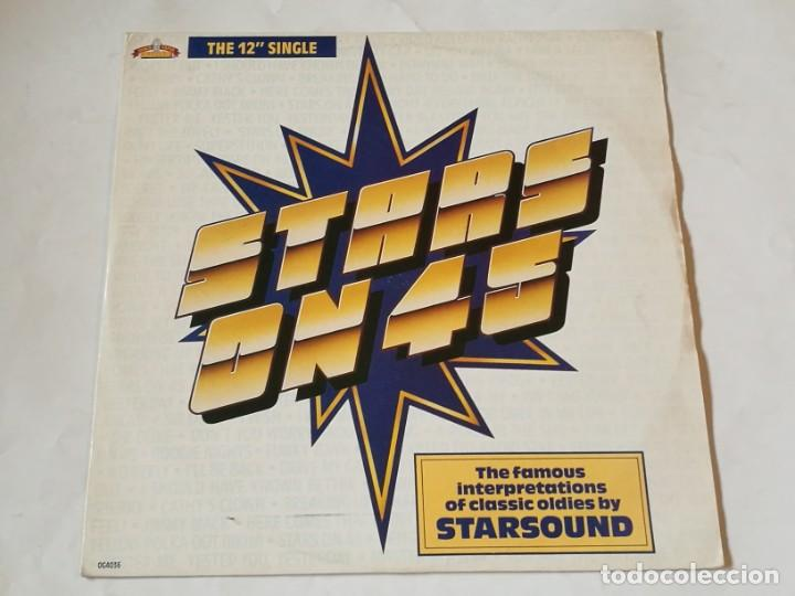 STARSOUND - STARS ON 45 / STARS ON STEVIE - 1987 (Música - Discos de Vinilo - Maxi Singles - Disco y Dance)