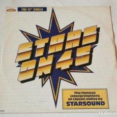 Discos de vinilo: STARSOUND - STARS ON 45 / STARS ON STEVIE - 1987. Lote 218249625