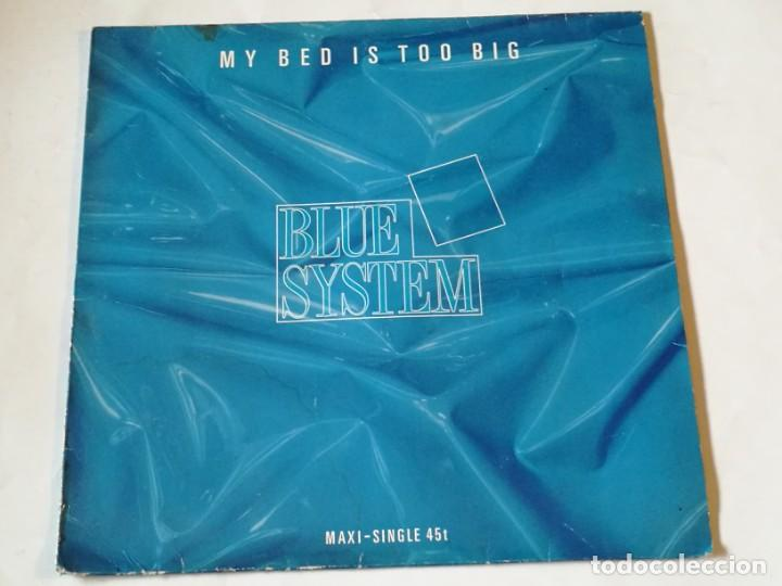 Discos de vinilo: Blue System - My Bed Is Too Big - 1988 - Foto 1 - 218249761