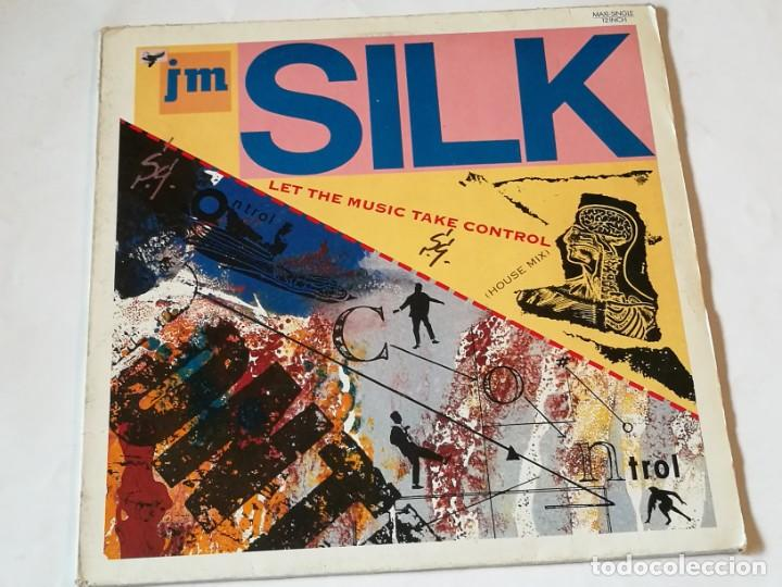 JM SILK - LET THE MUSIC TAKE CONTROL (HOUSE MIX) - 1987 (Música - Discos de Vinilo - Maxi Singles - Techno, Trance y House)