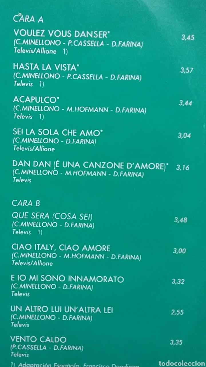 Discos de vinilo: RICCHI E POVERI (EN ESPAÑOL). LP. SELLO BABY RÉCORDS. EDITADO EN ESPAÑA. AÑO 1984 - Foto 2 - 218251732