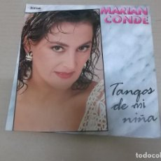 Discos de vinilo: MARIAN CONDE (SINGLE) TANGOS DE MI NIÑA AÑO 1990 - PROMOCIONAL. Lote 218252373